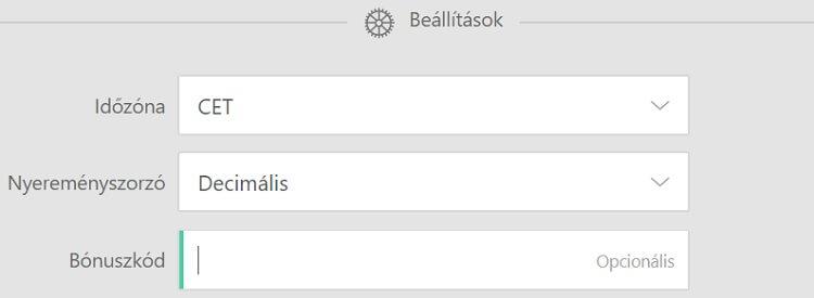 bet365 regisztráció- bónuszkód
